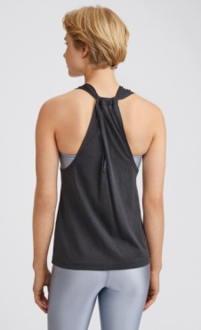 Filippa K twist layer Tank - Coal