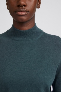 Filippa K Lynn Silk Mix Sweater - Pacific Green