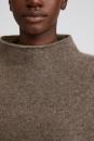 Filippa K Mika Yak Funnelneck Sweater - Dark Taupe - 4