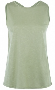 Criss Cross Top - Dark Mint
