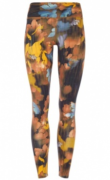Natural Printed Legging Canadian Autumn