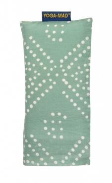 Cotton Eye Pillow - Green Diamond