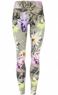 Natural Printed Legging Orchid