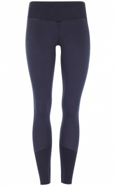 Ribbed Leggings - Dark Indigo