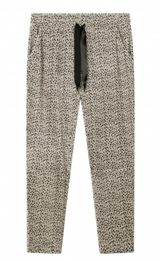 10Days Cropped Jogger Velours Safari