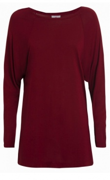 Flow Longsleeve - Deep Red