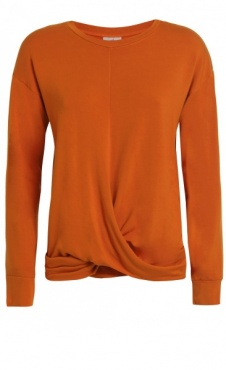 Twisted Sweatshirt - Tangerine