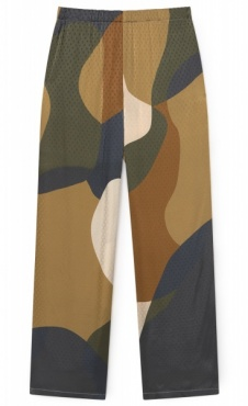 Forest Flow Satin Pants