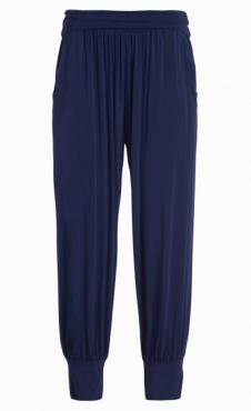 Harem Yoga Pants - Navy Blue