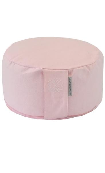 Love Generation Meditation Cushion - Blush Pink
