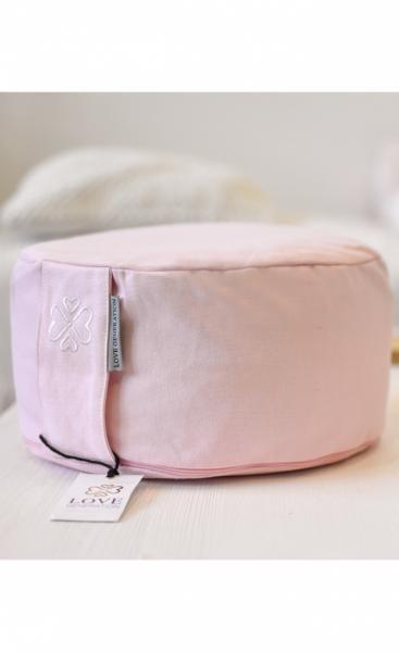 Love Generation Meditation Cushion - Blush Pink - 1