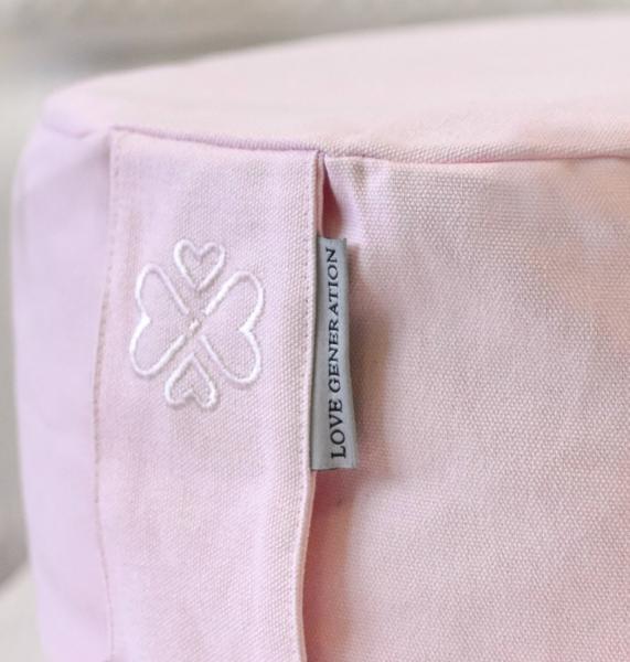 Love Generation Meditation Cushion - Blush Pink - 2