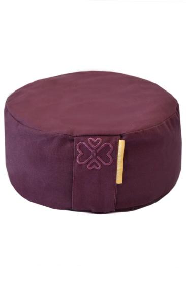 Love Generation Meditation Cushion - Burgundy