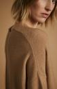 Lanius Merino Knit Tunic - Camel melange - 2