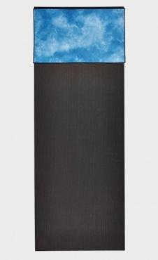 Manduka Handtowel Camo Blue hand dyed