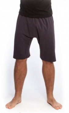 Mens Basic Jersey Shorts - Shale Grey