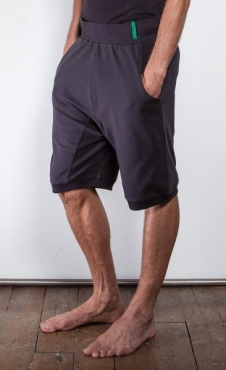 Mens Pocket Sweatshorts - Shale Grey