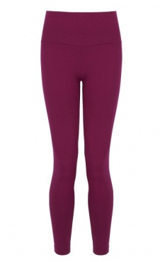 Flow with It Leggings - Beetroot
