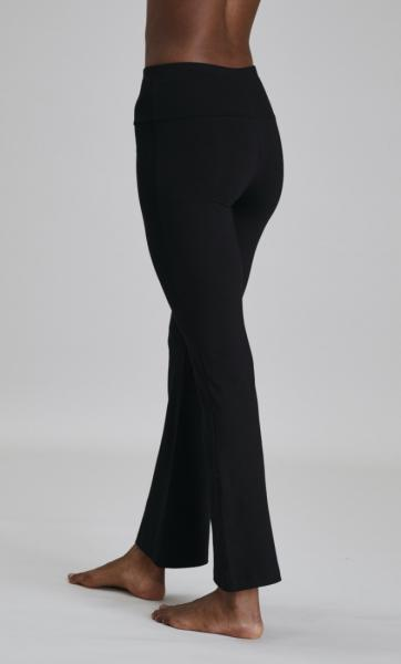 Asquith Extra Long Flared Pants - Black - 10