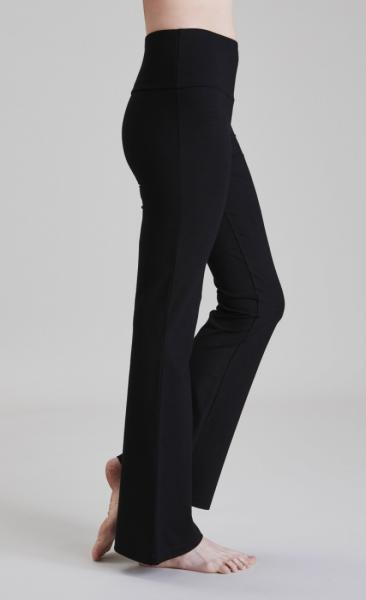 Asquith Extra Long Flared Pants - Black - 11
