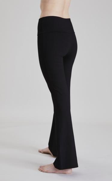 Asquith Extra Long Flared Pants - Black - 12