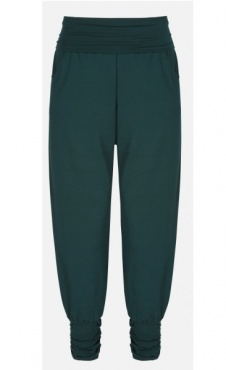 Long Harem Pants - Forest