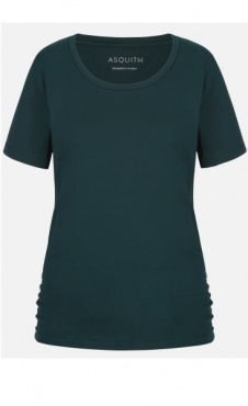 Bend It Tee - Forest / Grey Marl