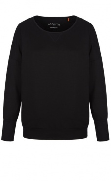 Long Sleeve Batwing - Black