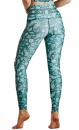 Mint To Be Recycled Printed Yoga Leggings - 4