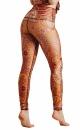 Rad paisley Recycled Yoga Leggings - 3