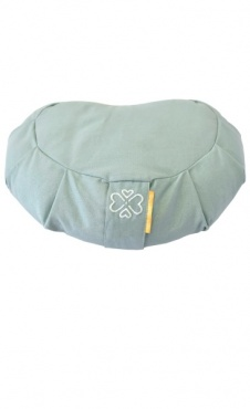 Half Moon Meditation Cushion - Celadon