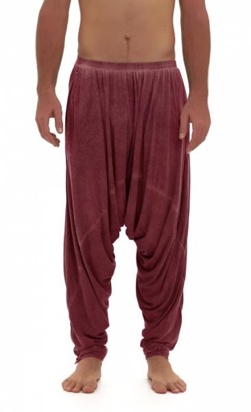 Ashram Pants Stone Wash Wine - 2