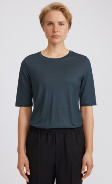 Filippa K Elena Tencel Tee - Pacific Green