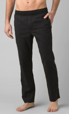 PrAna Vaha Pant Straight Cut - Dark Black