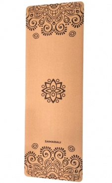Sun Eclipse Cork Yoga Mat
