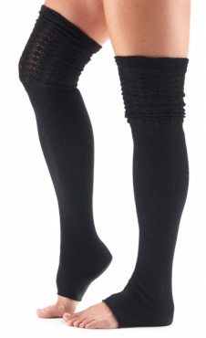 Sasha High Leg Warmer - Black