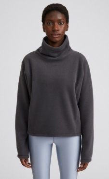 Filippa K Fleece Sweatshirt - Coal