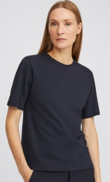 Filippa K Annie Organic Cotton Tee - Navy