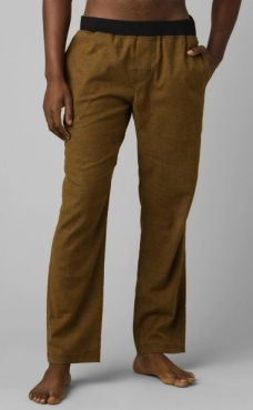 PrAna Vaha Pant Straight Cut - Dark Walnut