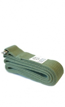 Love Generation Yoga Strap - Olive