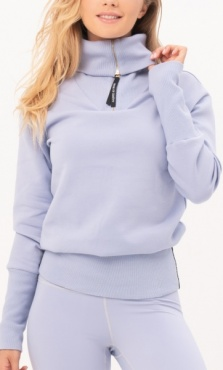 Gravity Turtle Neck Sweater - Aquamarine