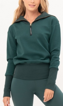 Gravity Turtle Neck Sweater - Emerald