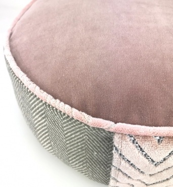 Meditation Cushion Roze Quartz