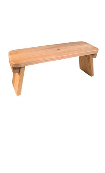 Meditation Bench - American Oak