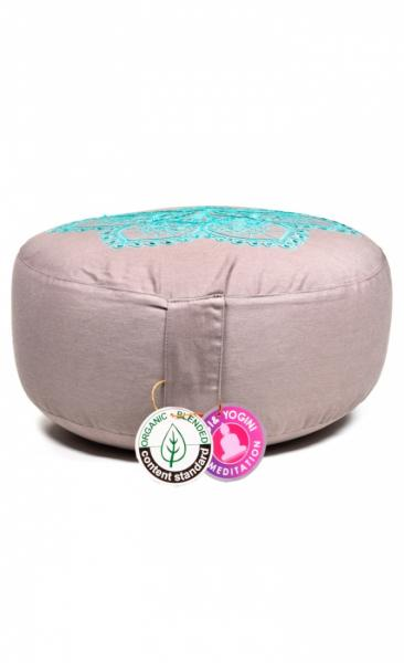 Meditation Cushion Lotus Mandala - 1