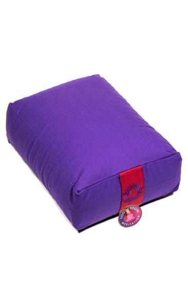 Squared Meditation Cushion - Purple
