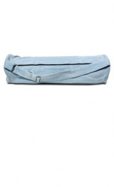 Yoga Mat Bag Herringbone - Ice Blue