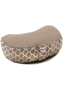 Half Moon Meditation Cushion - Sand
