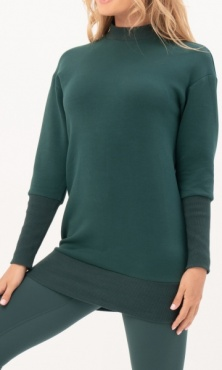 Gravity Two-way Sweater Dress - Emerald