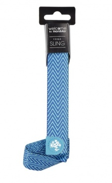 Manduka To Go Mat Sling - Pacific Blue